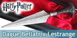 Harry Potter Dague de Bellatrix Lestrange Couteau