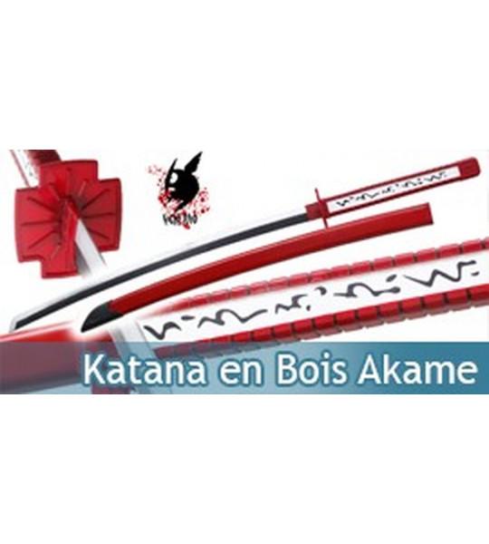 Katana en Bois Akame Ga Kill Murasame Teigu Epee