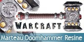 Warcraft Marteau de Thrall Resine Doomhammer Replique