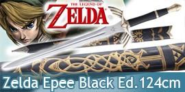 Zelda Epee de Link 124cm Black Ed. Master Sword Excalibur