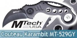 Couteau Pliant Karambit Mtech USA MT-529GY