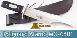Couteau de Chasse Alamo MC-AB01 Jim Bowie Poignard