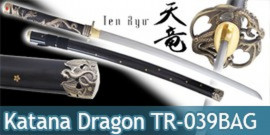 Katana Lame Maru Black Dragon TR-039BAG Ten Ryu