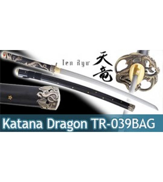 Katana Lame Maru Black Dragon TR-039BAG Ten Ryu