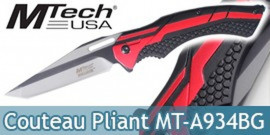 Couteau Pliant Mtech USA Red MT-A934BG