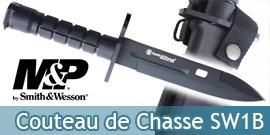 Couteau de Chasse Smith & Wesson SW1B Poignard
