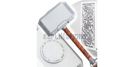 Thor Marteau Mjolnir Tete Acier Hammer Replique 4kg