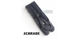 Couteau Multifonction Schrade Black ST1NB Camping