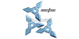Set 3 Shurikens Etoile de Lancer Perfect Point 90-36BLX3