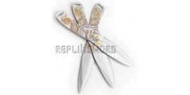 Set 3 Couteaux de Lancer Dragon Perfect Point PP-112-3SY