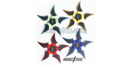 Set de 4 Etoile a Lancer Ninja Shinobi Shuriken 90-45-4