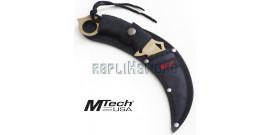 Couteau Karambit Mtech USA MT-20-76GD Gold Edition