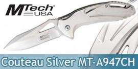 Couteau de Poche Master Cutlery Silver MT-A947CH Couteau Pliant