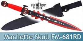Machette Fantasy Master Red Skull Epee FM-681RD