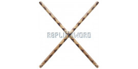 2X Batons en Kali Arts Martiaux Bois 66cm SE-608X2