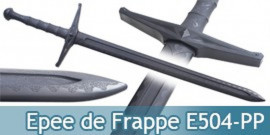 Epee de Frappe Medievale Polypropylene Entrainement