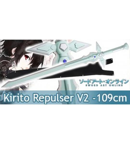 Sword Art Online Epee Dark Repulser de Kirito Sabre V2
