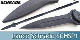 Lance Tactique Schrade Lance Survie Tactical SCHSP1