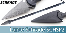 Lance Tactique Schrade Lance Survie Tactical SCHSP2