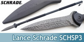Lance Tactique Schrade Lance Survie Tactical SCHSP3