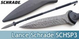 Lance Tactique Schrade Lance Survie Tactical SCHSP3