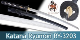 Katana Ryumon Samourai Epee Sabre RY-3203