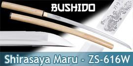 Bushido - Katana Shirasaya Forgé Dragon - Maru 1045