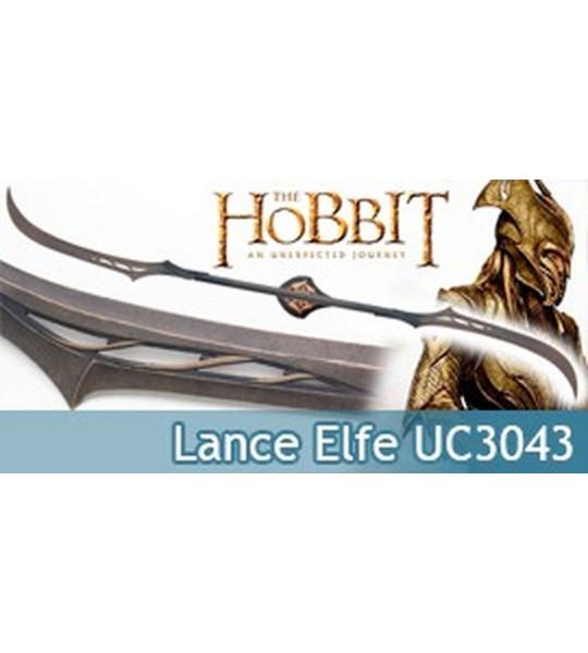 Lance Double Lame Elfes Mirkwood Le Hobbit UC3043