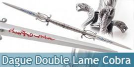 Epee Double Lame Cobra Dague