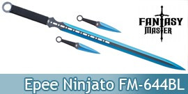 Epee Ninjato Blue Edition Ninja Shinobi FM-644BL