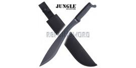 Machette Kukri Jungle Master Lame Noire Chasseur HK-1049B