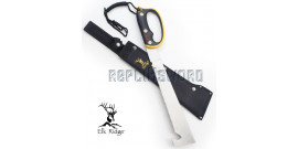 Machette Elk Ridge ER-281 Master Cutlery Scie Chasseur