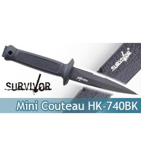 Mini Couteau de Survie Survivor Master Cutlery HK-740BK