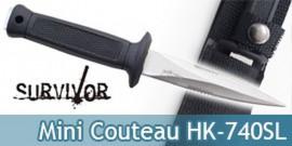 Mini Couteau de Survie Survivor HK-740SL