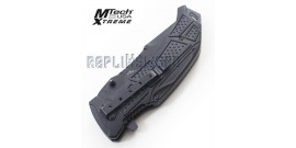 Couteau de Poche Black Xtreme MX-850BK Couteau Pliant