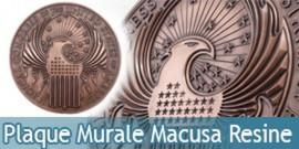 Plaque Murale Macusa Resine Les Animaux Fantastiques