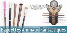 Pack des 5 Baguettes et Présentoir Les Animaux Fantastiques