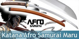 Katana Practical Afro Samurai Lame Maru Sabre Epee