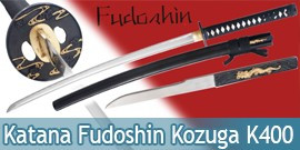 Katana Fudoshin Maru 1045 Epee avec Kozuga K400