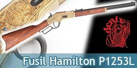 Fusil Winchester Americain Denix Hamilton Decoration P1253L