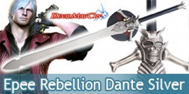 Devil May Cry Epee Rebellion Dante Silver Edition Sabre