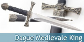 Dague Medievale King Couteau Moyen Age Decoration