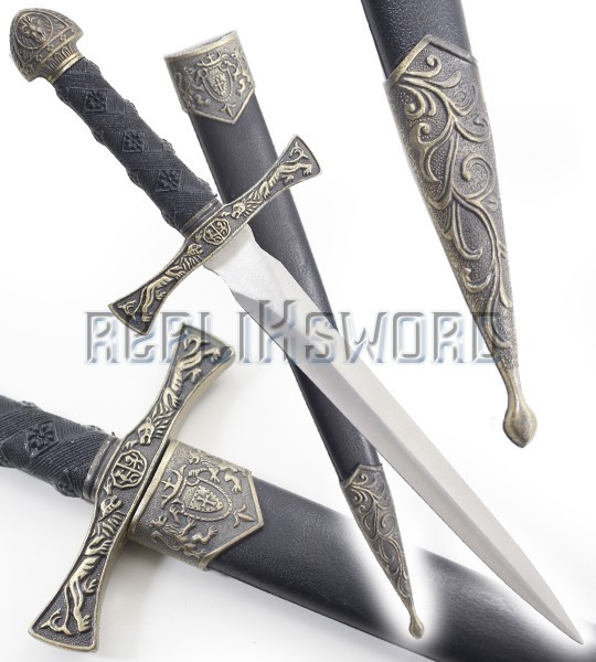 Dague Medievale King Couteau Moyen Age Decoration