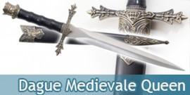 Dague Medievale Queen Couteau Moyen Age Decoration