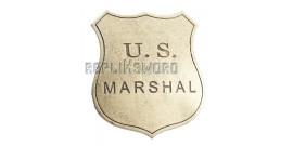 Badge Etoile de Marshal US Denix Badge Acier 113