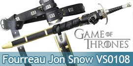 Fourreau de l'Epee Jon Snow VS0108 Valyrian Steel