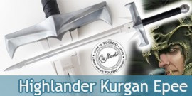 Highlander Epee Kurgan Marto Replique Officielle Sabre