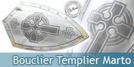 Bouclier des Templiers Marto Chevalier Templier
