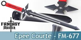 Epee Courte Fantasy Master Sabre FM-677