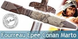 Fourreau de l'épée Altantean de Conan le Barbare Marto